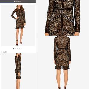 Bardot NWOT lace long sleeve dress